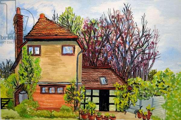 Rose Cottage, Cookham, Lord Astor's Farm Cliveden, 2009