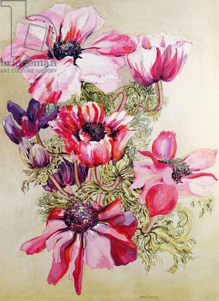 Anemones (w/c)