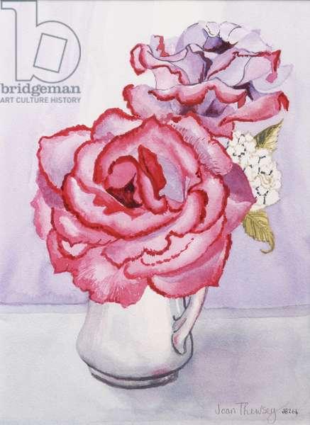 Madge's Rose, 2010 (w/c on handmade paper)