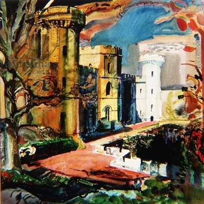 Eastnor Castle (w/c)