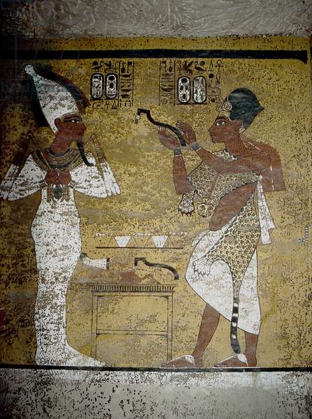 Luxor, Thebes: Valley of the KINGS. Tomb of Tutankhamun.