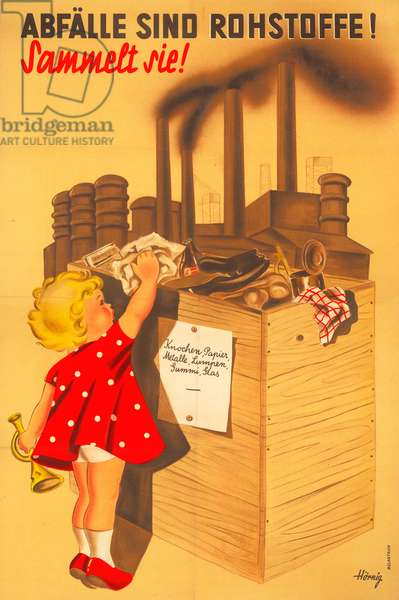 German poster during Third Reich
