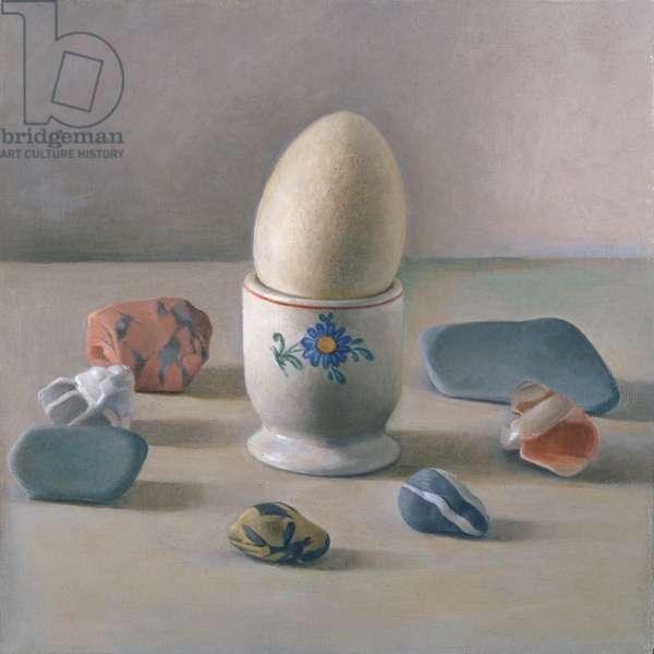 Eggcup Ritual (w/c on paper)