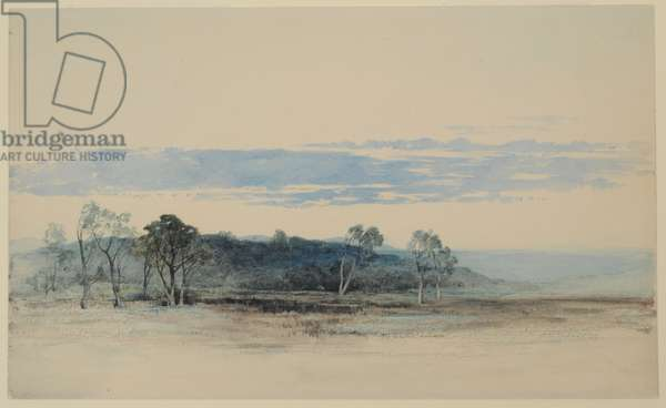 Cumrew, East Fellside, 1840-58 (w/c on paper)