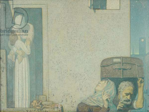 The Farewell, c.1907 (tempera on canvas)