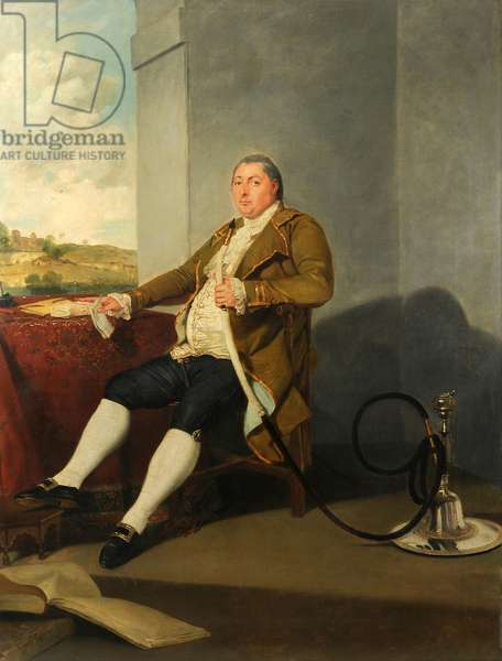 James Graham of Barrock Park and Rickerby, 1786 (oil on canvas)