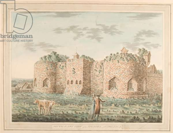 South East View of the Citadel of Carlisle, 1791 (w/c on paper)