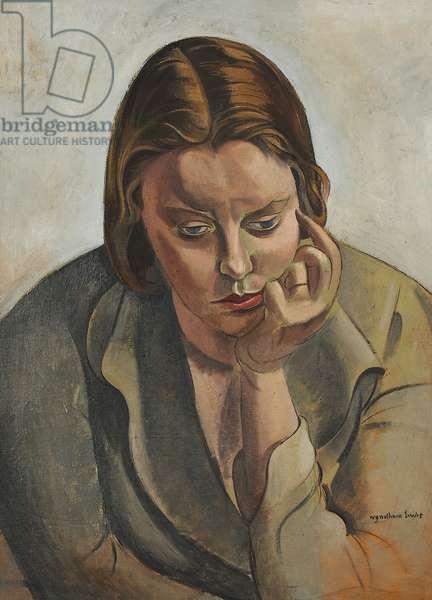 Pensive Head, 1938 (oil on canvas)