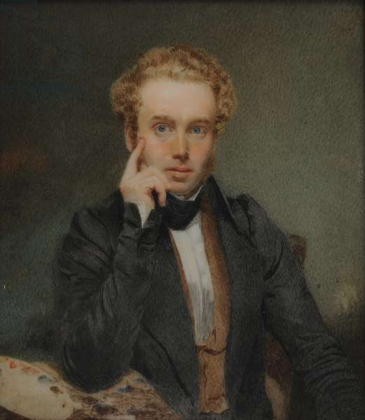 Self-Portrait, c.1830 (w/c on paper)
