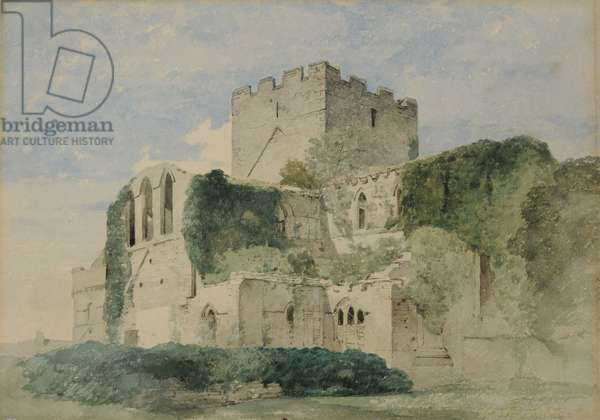 Lanercost Priory, 1850-58 (w/c on paper)
