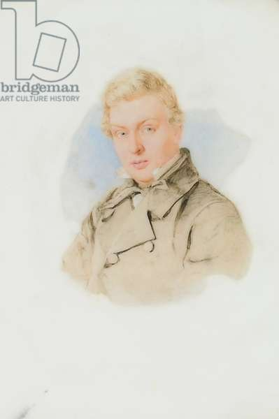 Portrait of William James Blacklock, c.1840 (w/c on paper)