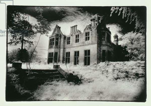 Milton Lockhart House, Lanarkshire (b/w photo)
