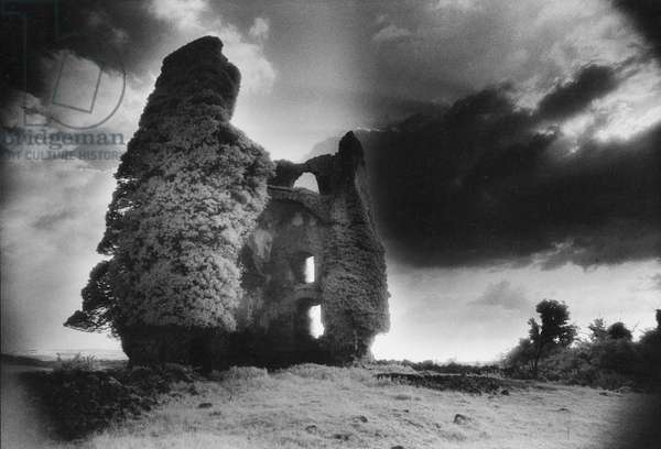 Annagh Castle, County Tipperary (b/w photo)