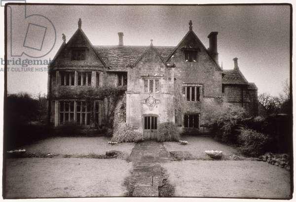 Sandford Orcas Manor, Dorset (b/w photo)