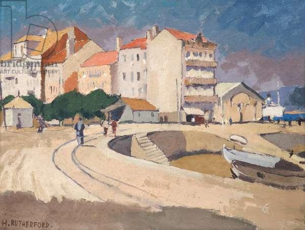 Vigo, c.1960 (oil on board)