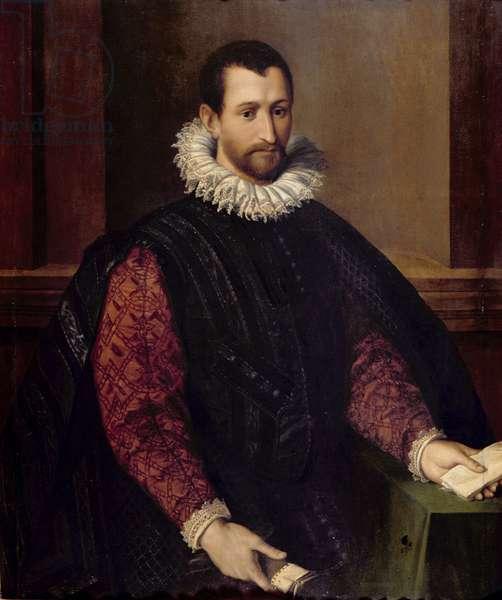 Portrait of a Gentleman (oil on panel)
