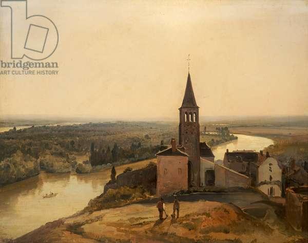 Near Rouen, 1817-28 (oil on panel)