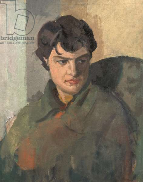 Portrait of Sheila Mumford, c.1960 (oil on canvas)