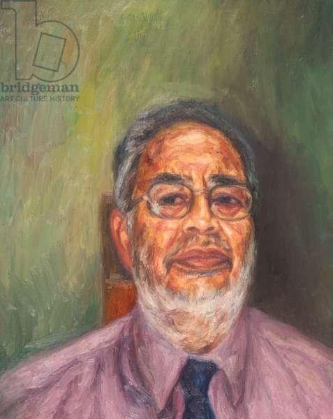 Dipak Chauhan, 2003 (oil on canvas)