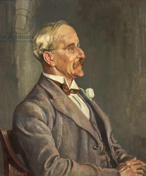Portrait of S. Ashworth, 1929 (oil on canvas)