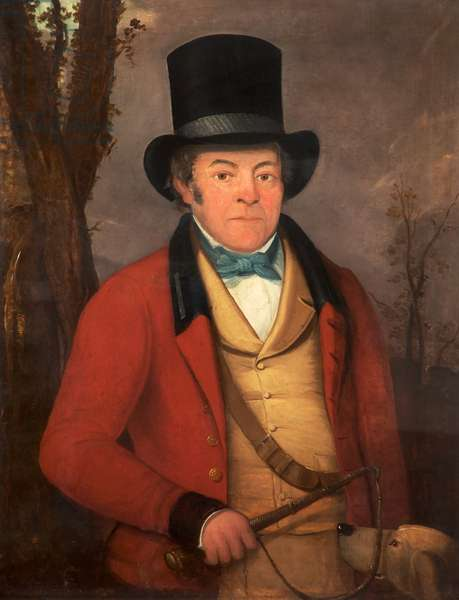 Joseph Hall, Master of the Staley Hunt, c.1840-60 (oil on canvas)