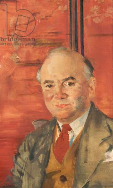 Portrait of Harry Rutherford, c.1965 (oil on canvas)