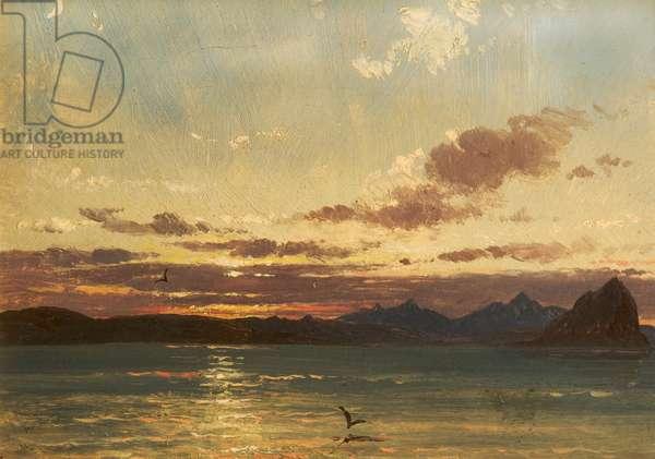 Isle of Arran, c.1840-75 (oil on panel)