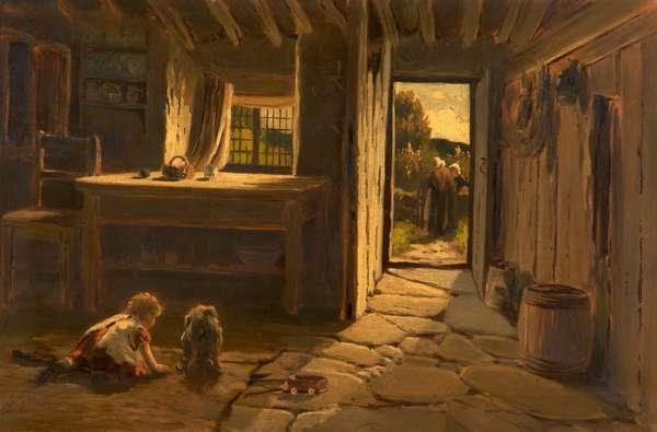 Cronies, 1884 (oil on canvas)