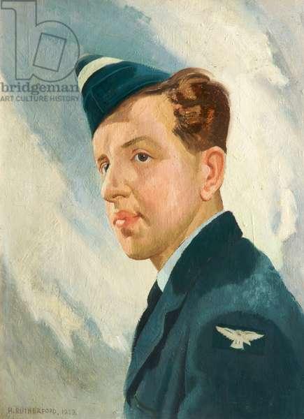 Flight Sergeant Donald S Mitchell, 1949 (oil on canvas)
