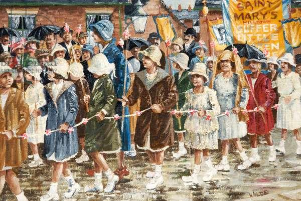 Wet Whit Walk, c.1975-80 (oil on canvas)