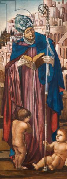 Saint Nicholas, c.1870-98 (oil on canvas)