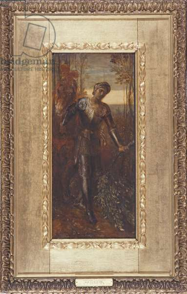 Sir Perceval (oil on canvas)
