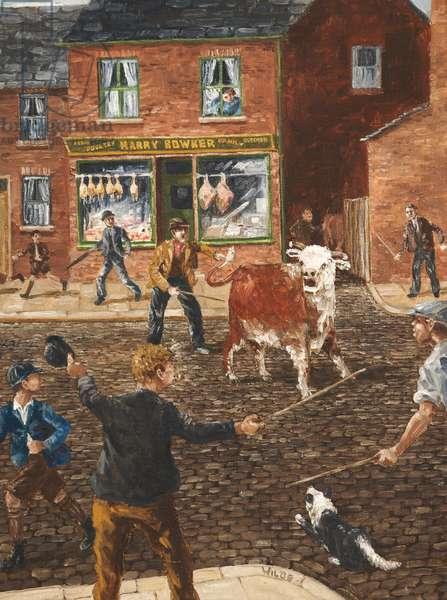 T'Bull's Getten Loose, 1961-81 (oil on canvas)