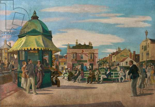Great Yarmouth, 1932 (oil on board)