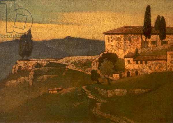San Andrea, Volterra, 1924 (oil on canvas)