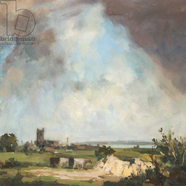 Passing Storm, c.1970-8 (oil on canvas)