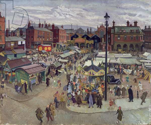 Northern Saturday, 1948 (oil on canvas)