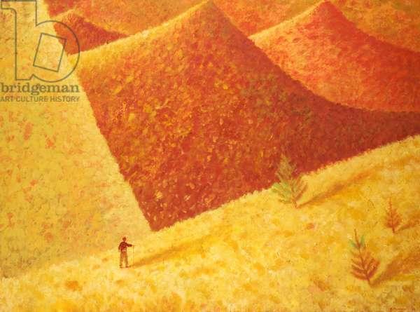 Mountain Journey, 1988 (oil on canvas)