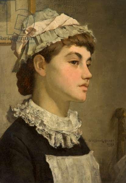 The Maid Servant, 1881 (oil on canvas)