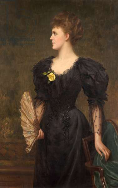 Portrait of Mrs Gillingham Smith, 1895 (oil on canvas)