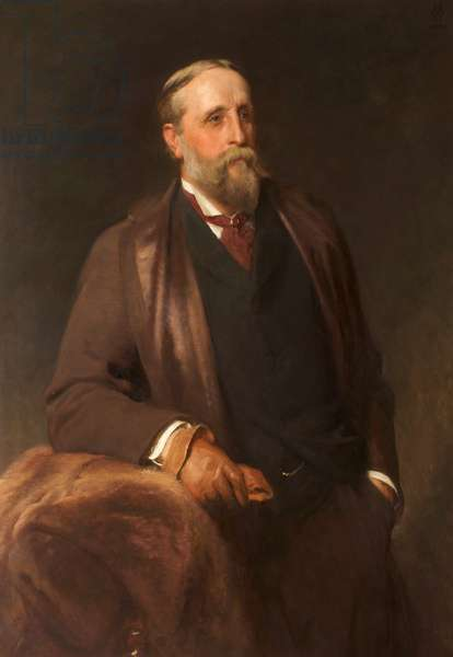 Portrait of J. F. Cheetham, c.1880-90 (oil on canvas)
