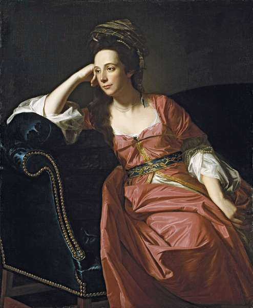Mrs. Thomas Gage, 1771 (oil on canvas)