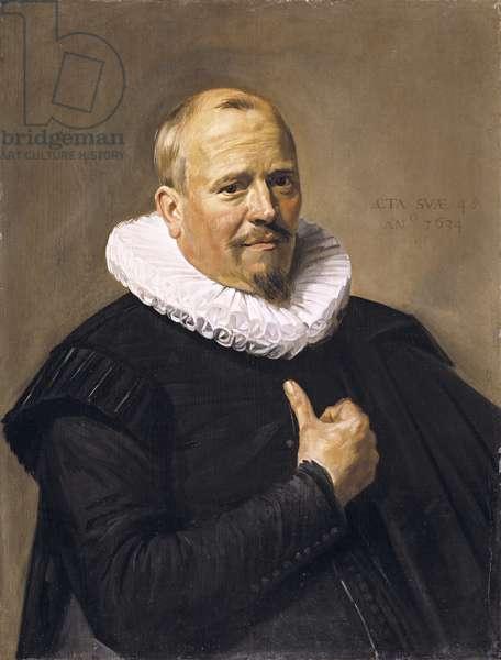 Portrait of a Man, 1634 (oil on oak panel)