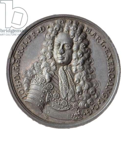 Duke of Marlborough, Battle of Blenheim medal, 1706 (silver)