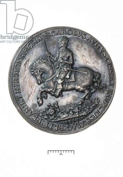Charles I, Return to London Following the Coronation in Edinburgh, 1633 (silver)