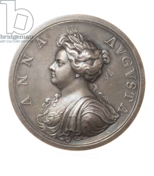 Medal commemorating the death of Queen Anne, 1714 (silver)