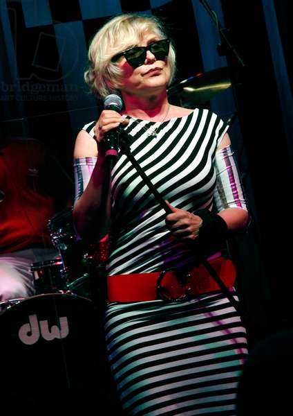 Deborah Harry of Blondie