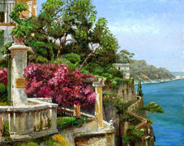 Serene Sorrento, 2006 (oil on board)