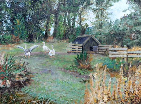 Beeley, Derbyshire, 2009 (oil on canvas)