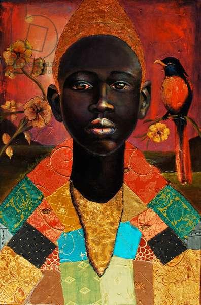 Paradise, 2011 (mixed media on canvas)
